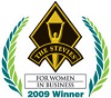 The Stevies: For Women in Business. 2009 Winner.