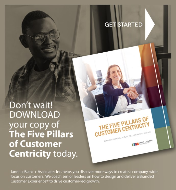 Don't wait! Download your copy of The Five Pillars of Customer Centricity today.