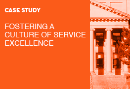 Case Study: Fostering a Culture of Service Excellence